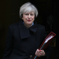 UK Prime Minister, Theresa May delivered her first speech